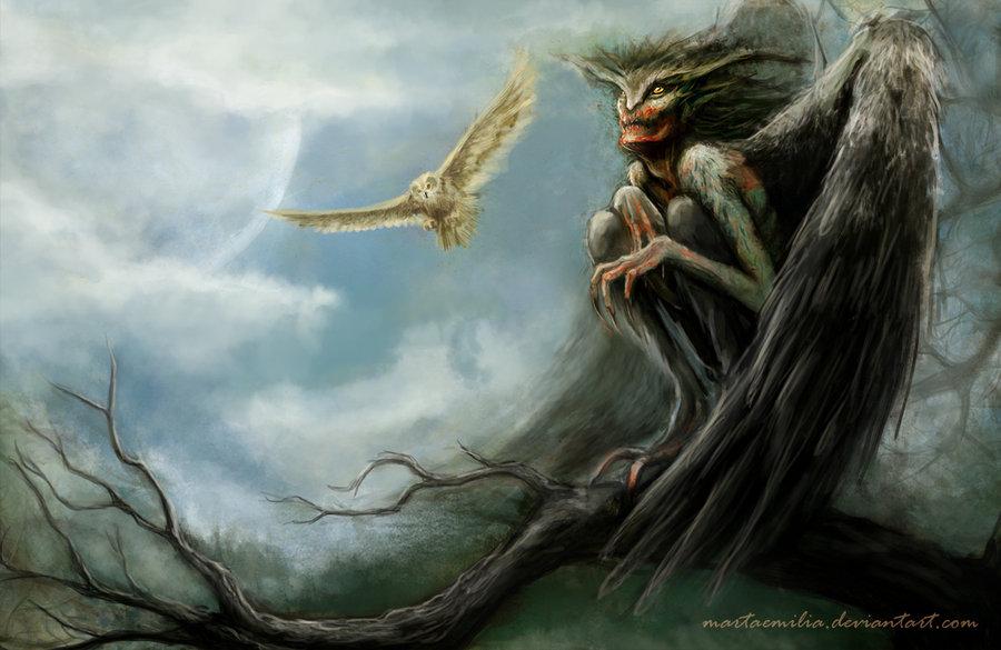 striga tawny owl