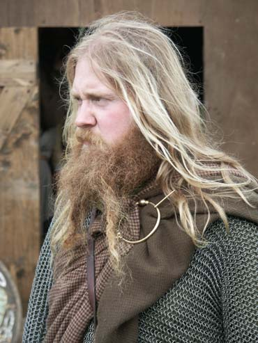 włosy broda słowianin